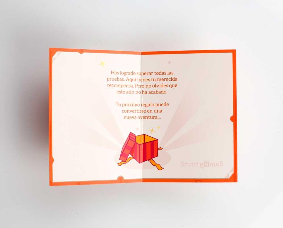 Tarjeta de Felicitación abierta - Pack Amateur I