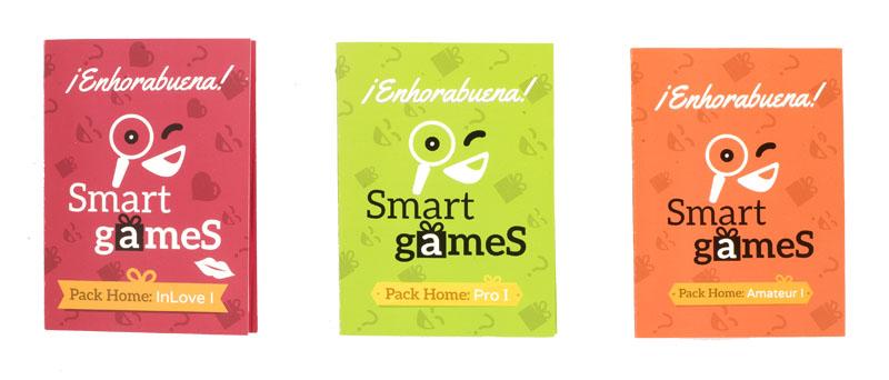 Tarjetas de Felicitación de Smart Games